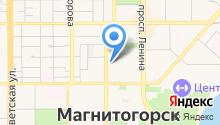 МАГНИТОГОРСКИЙ ДОМ ПЕЧАТИ, ЗАО на карте