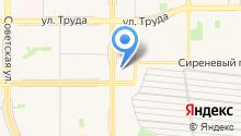 Поисково-спасательная служба Челябинской области на карте