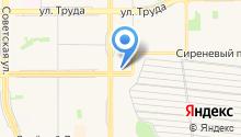 Оргспецжилстрой на карте