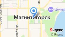 Городская автостоянка на карте