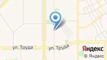 Автостоянка на ул. Ворошилова на карте