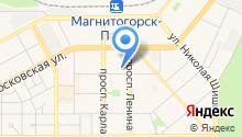 ДОСААФ России в г. Магнитогорске на карте