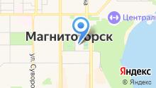 Администрация г. Магнитогорска на карте
