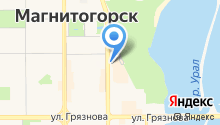 Урал Салют на карте