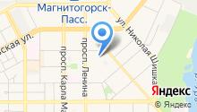 Управление Пенсионного фонда РФ в г. Магнитогорске на карте