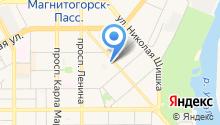 Динамо, МОУ на карте