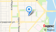 Калининская на карте
