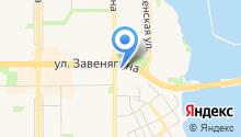 Япартс на карте