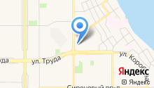 А-соль на карте