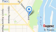 АЗС Комплект на карте