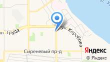 АИБ Челябинвестбанк, ПАО на карте