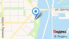 Автостоянка на Набережной на карте