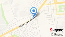 АВТОСЕРВИС 70-й на Магнитной на карте