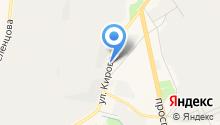 Т-Моторс на карте
