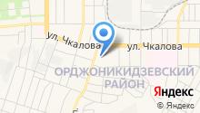 Авторадуга на карте