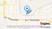 Шеврон на карте