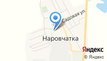 Одуванчик на карте