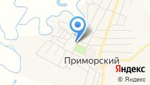 Центральный, продовольственный магазин на карте