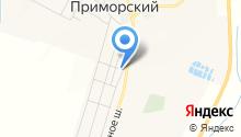 Придорожный, продуктовый магазин на карте