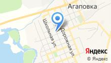 Магазин продуктов на Пролетарской на карте