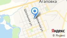 Кафе на ул. Пролетарской на карте