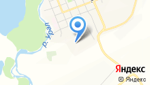 Магнитогорское участковое лесничество на карте