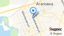 Комитет по управлению имуществом и земельными отношениями Администрации Агаповского района на карте
