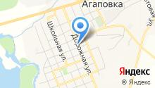 Управление пенсионного фонда РФ в Агаповском районе на карте