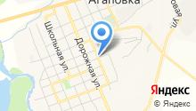 Агаповское, ЗАО на карте