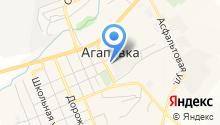 Агаповское предприятие по ремонту и содержанию автомобильных дорог на карте