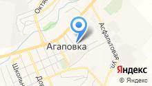 Агаповский РЭС на карте