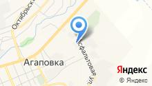 Агаповский завод профнастила на карте