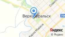 Собрание депутатов Верхнеуральского муниципального района на карте