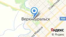 Верхнеуральский автовокзал на карте