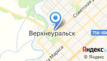Верхнеуральский районный краеведческий музей, МУ на карте