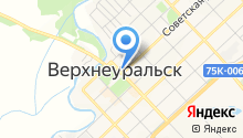 Управление социальной защиты населения Верхнеуральского района на карте