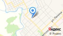Продуктовый магазин на ул. Рябиновая на карте