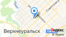 Отдел МВД России по Верхнеуральскому району на карте
