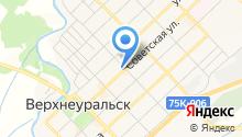 Красный Уралец, АНО на карте