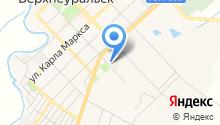 Верхнеуральское автотранспортное предприятие на карте