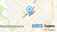 Судебный участок №2 Верхнеуральского района на карте