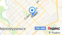 Судебный участок №1 Верхнеуральского района на карте