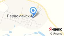 Первомайская среднеобразовательная школа на карте