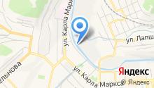 Златоустовский абразивный завод на карте
