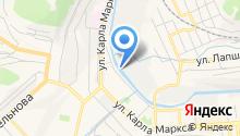 Златоустовский абразивный завод, ЗАО на карте