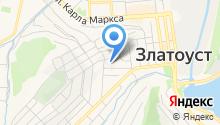 Златоустовская городская больница №6 на карте