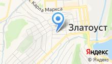 Златоустовская городская больница №4 на карте