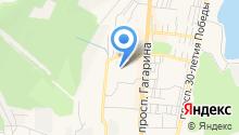 Златоустовский участок абонентской службы на карте