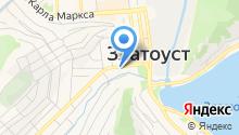 Златоустовское отделение специальной связи на карте