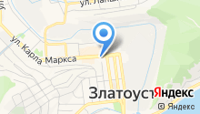 Ильменские Двери на карте